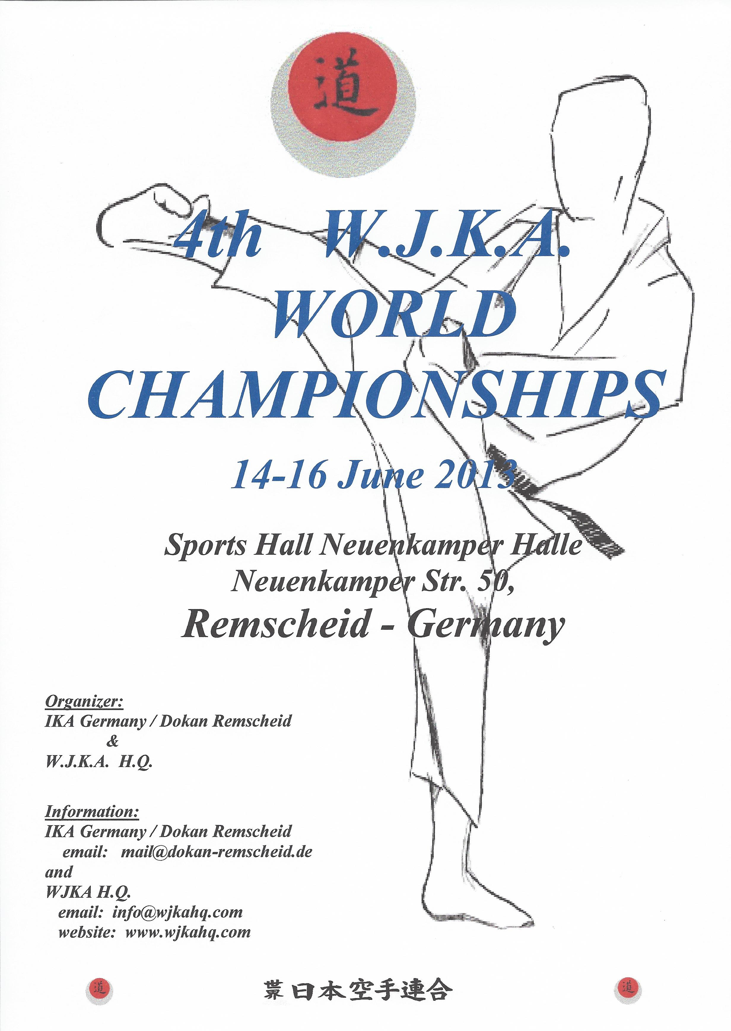 2013-06 4. WJKA World Championship